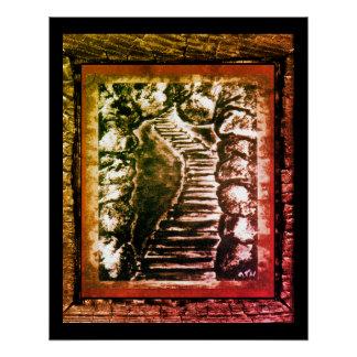 Stone Pathway Poster
