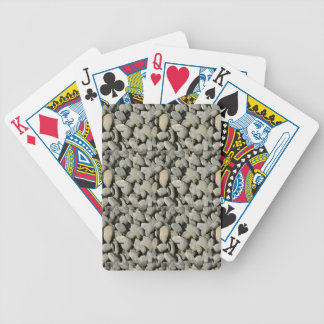 STONE PATTERN FOR GIFT A4 BICYCLE PLAYING CARDS