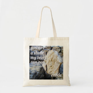 Stone Poetry Tote