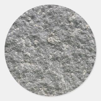 Stone Rock Classic Round Sticker