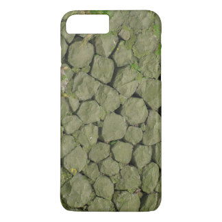 Stone Rockwall Texture Background iPhone 7 Plus Case