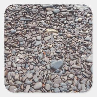 Stone shore sticker