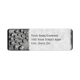 Stone Spiral Return Address Label