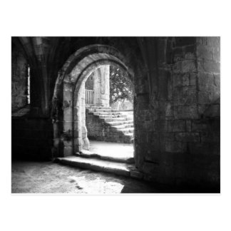 stone-stairs-in-fountains-abbey postcard