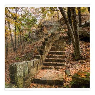 Stone Stairway - Heavener, OK Acrylic Wall Art