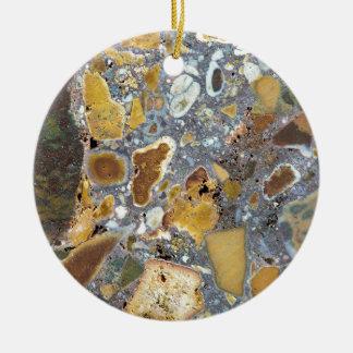 Stone texture: Laterite Ceramic Ornament