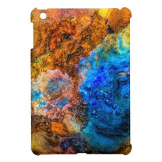 Stone texture paint iPad mini covers