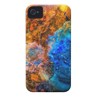 Stone texture paint iPhone 4 cover