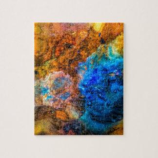 Stone texture paint jigsaw puzzle