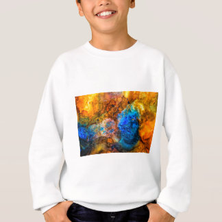Stone texture paint sweatshirt