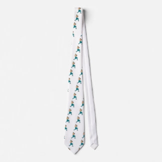 Stone Throw Highland Games Athlete Drawing Tie