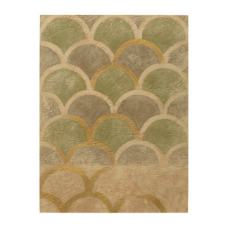 Stone Tile Design by Chariklia Zarris Wood Wall Decor