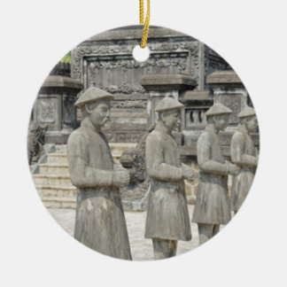 Stone Tomb Statues Ceramic Ornament