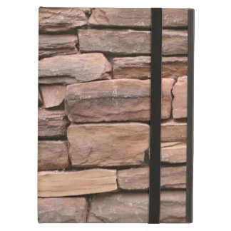 STONE WALL BROWN iPad AIR CASES