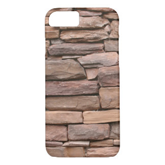 STONE WALL BROWN iPhone 7 CASE