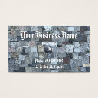 Stone Wall Business Card