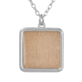 stone wall details silver plated necklace