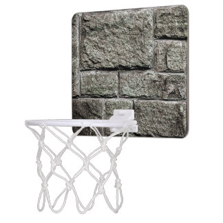 Stone Wall Novelty Mini Basketball Hoop