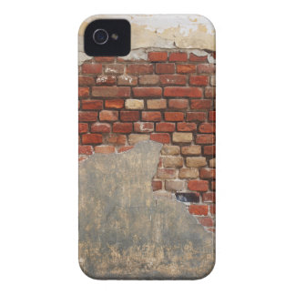 Stone wall of the old brick and plaster iPhone 4 Case-Mate cases