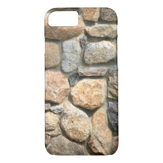 Stone Wall Rock Formation Masonry Textured iPhone 7 Case