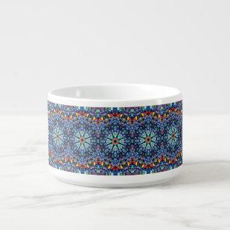 Stone Wonder Kaleidoscope  Chili Bowls