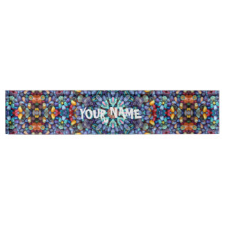 Stone Wonder  Kaleidoscope Desk Nameplate