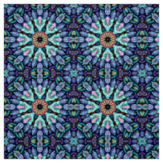 Stone Wonder Kaleidoscope  Fabric, 7 styles Fabric