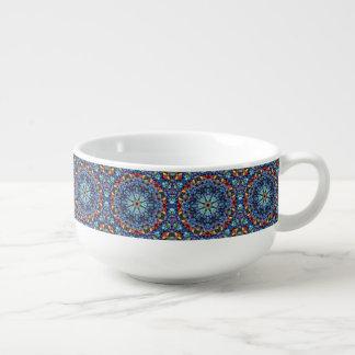 Stone Wonder Kaleidoscope  Soup Mugs
