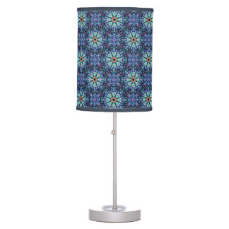 Stone Wonder  Kaleidoscope Table Lamp