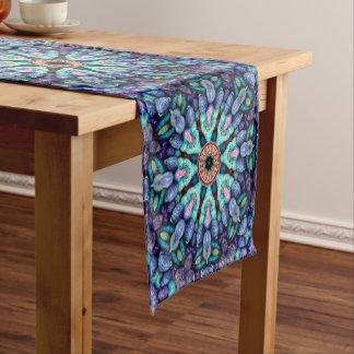 Stone Wonder Kaleidoscope  Table Runner