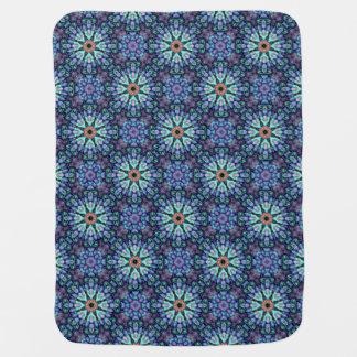 Stone Wonder  Tiled Design Baby Blankets