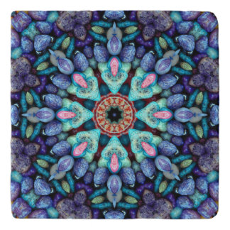 Stone Wonder  Vintage Kaleidoscope Trivet