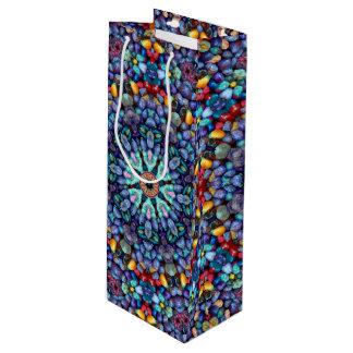 Stone Wonder Vintage Kaleidoscope Wine Bags