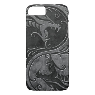 Stone Yin Yang Dragons iPhone 8/7 Case