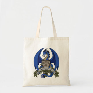 Stonefire Dragons Crest (Blue) Grocery Tote
