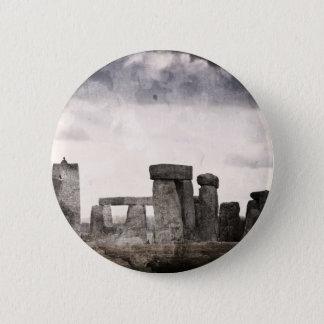 Stonehenge 2 Inch Round Button