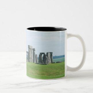 Stonehenge 2 Two-Tone coffee mug