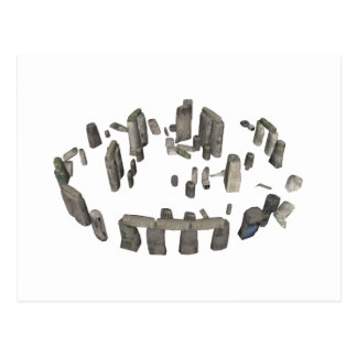 Stonehenge: 3D Model: Postcard