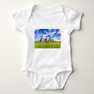 Stonehenge Ancient Britain Baby Bodysuit