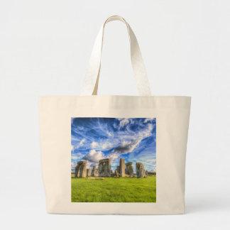 Stonehenge Ancient Britain Large Tote Bag