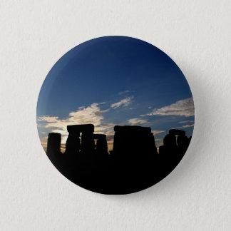 Stonehenge badge 2 inch round button