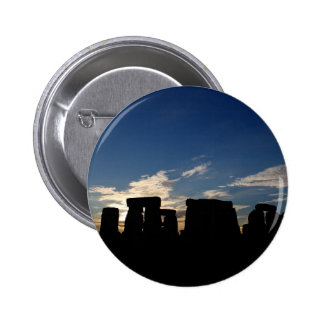 Stonehenge badge 2 inch round button