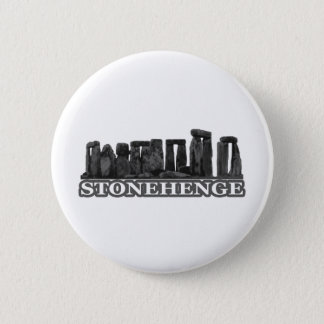 Stonehenge Black transp The MUSEUM Zazzle Gifts 2 Inch Round Button