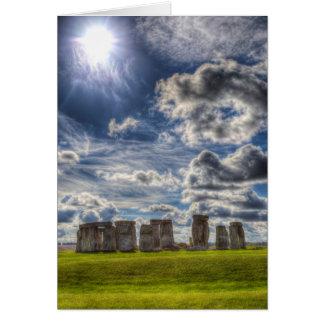 Stonehenge Card