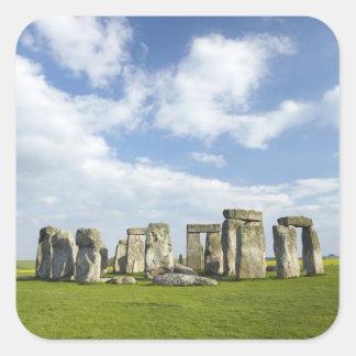 Stonehenge (circa 2500 BC), UNESCO World Square Sticker