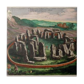 Stonehenge from Atlas Van Loon 1649 Tile