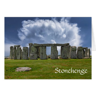 Stonehenge funny aging birthday card