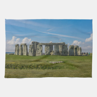 Stonehenge in England Kitchen Towel