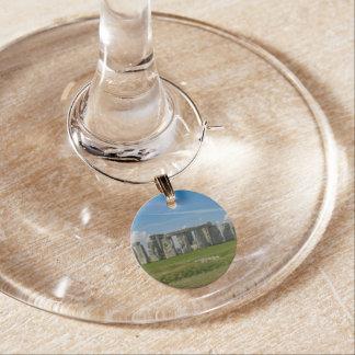 Stonehenge in England Wine Charm