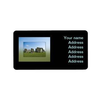 Stonehenge Label